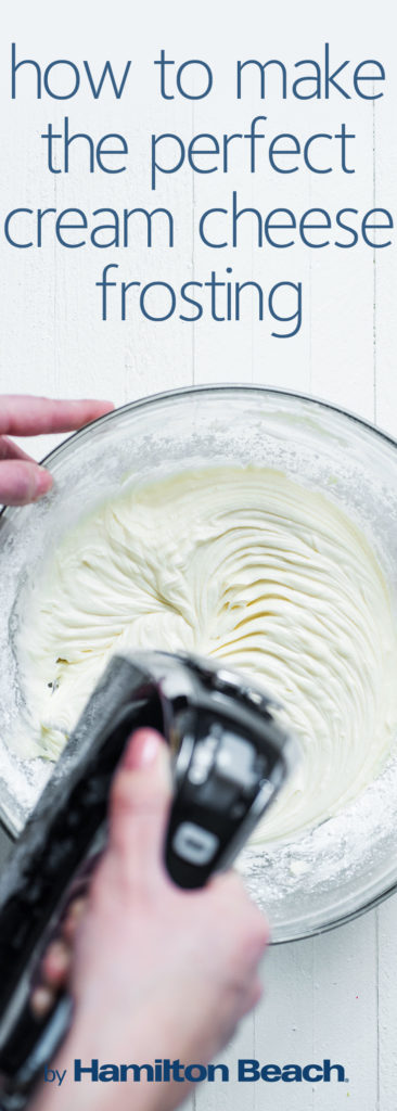 how to make the perfect cream cheese frosting