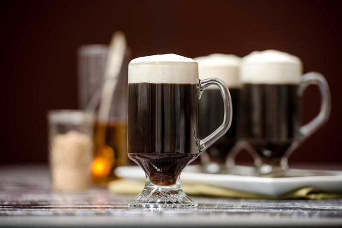 Irish Coffee with the BrewStation® Coffee Maker from Everyday Good Thinking, the official blog of @HamiltonBeach - Happy St. Patrick's Day!