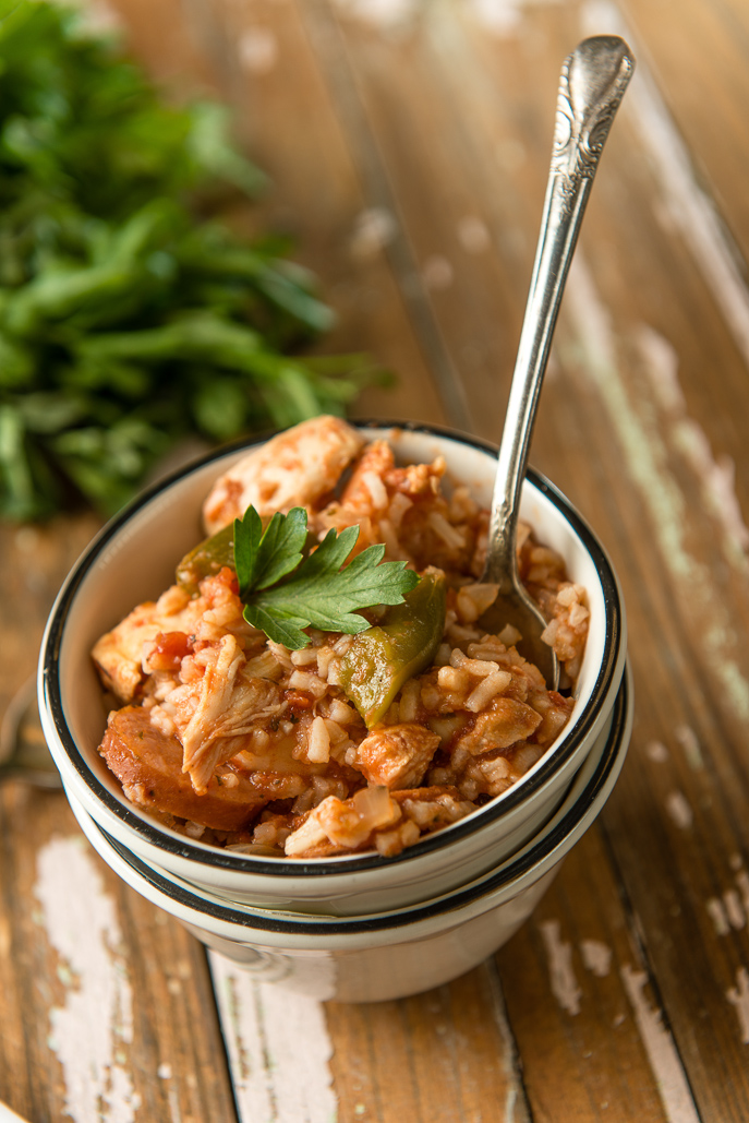 Slow Cooker Jambalaya from Everyday Good Thinking, the official blog of @hamiltonbeach