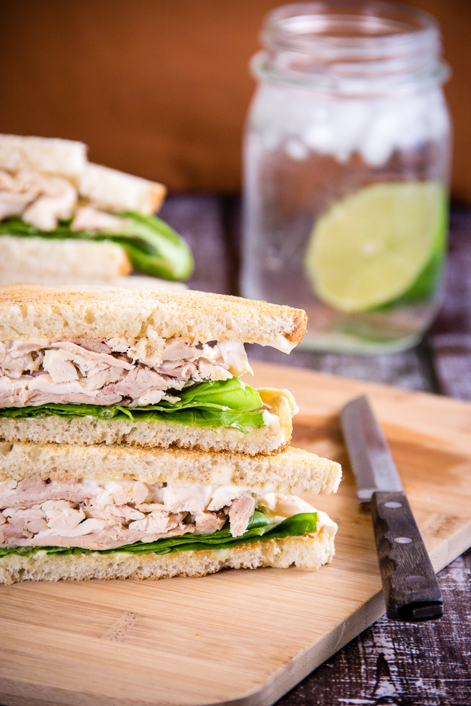 Leftovers Chicken Sandwich - Easy Recipes for Chicken Leftovers from Everyday Good Thinking, the official blog of @HamiltonBeach