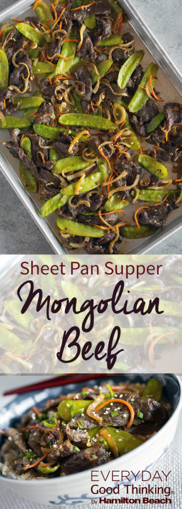 Sheet Pan Mongolian Beef Recipe