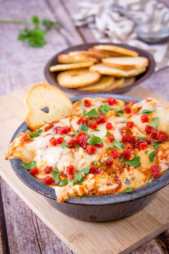 New York Pizza Dip and other Football Tailgating Recipe Ideas from Everyday Good Thinking, the official blog of @HamiltonBeach