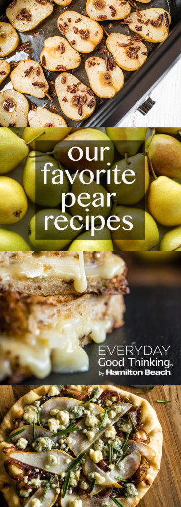 our favorite pear recipes