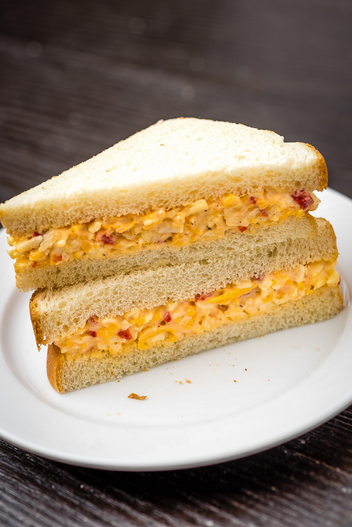 Perfect Southern Pimento Cheese Spread from Everyday Good Thinking by @hamiltonbeach - perfect for sandwiches, snacks, bridal showers, baby showers and quick lunches