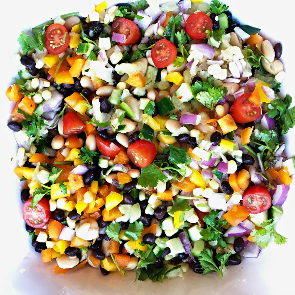 Cowboy Caviar Pineapple Dip from Reluctant Entertainer