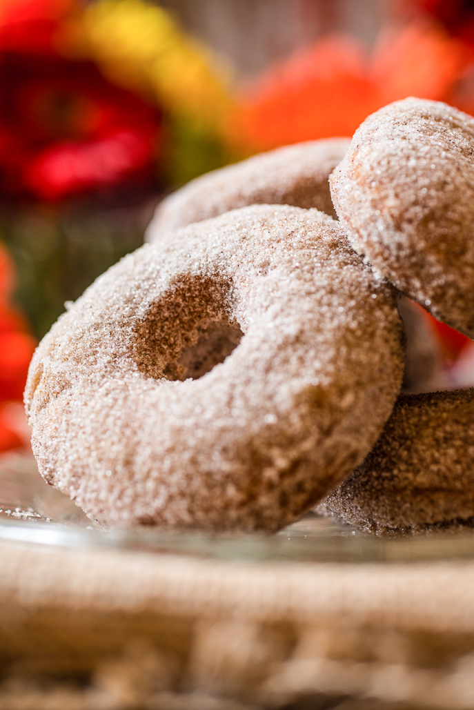 Pumpkin Donuts from Everyday Good Thinking, the official blog of @hamiltonbeach
