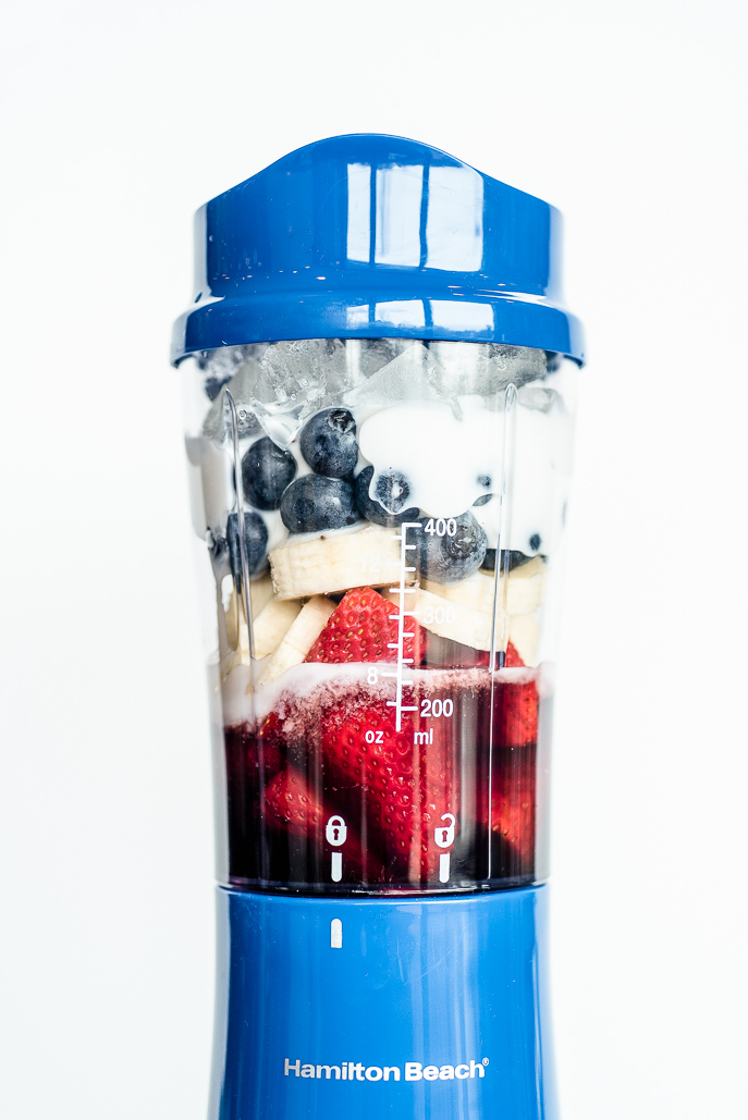 Tips for a Healthy 4th of July Holiday and a Red, White and Blue Power Protein Smoothie Recipe