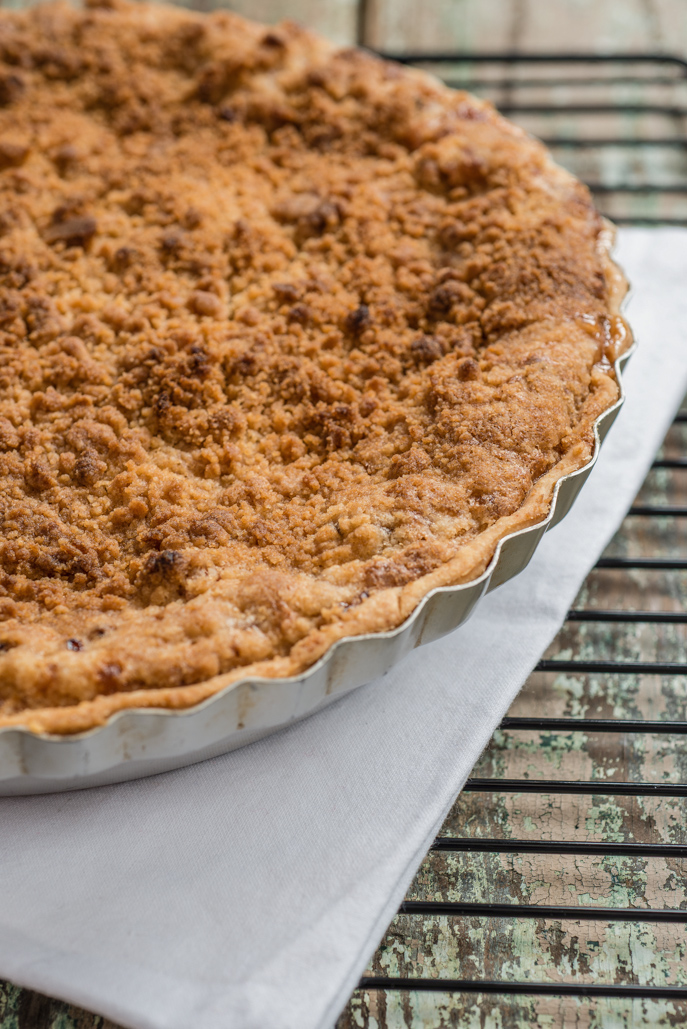 This rhubarb custard pie from @HamiltonBeach's test kitchen is perfect for spring! everydaygoodthinking.com