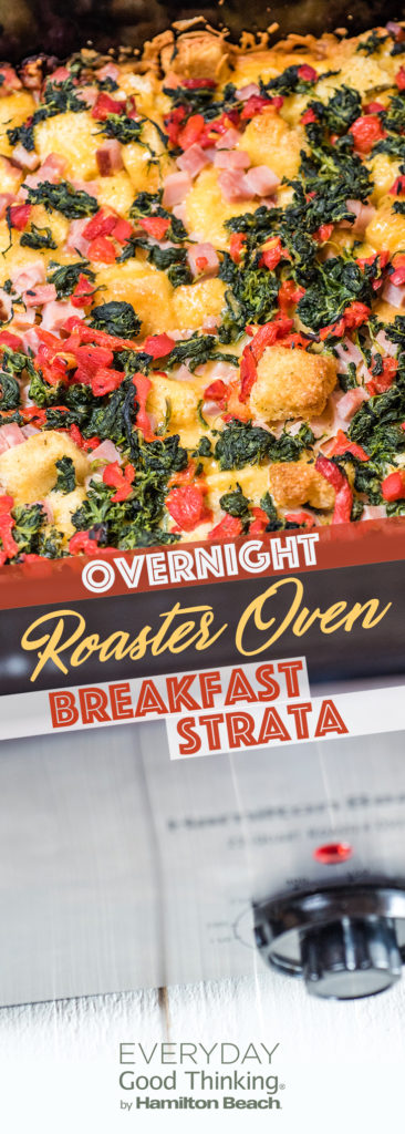 Roaster Oven Breakfast Strata