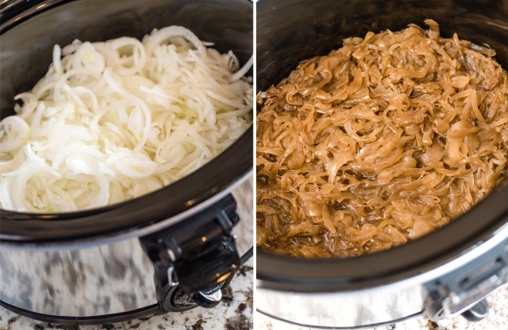 Slow Cooker Caramelized Onions | @hamiltonbeach