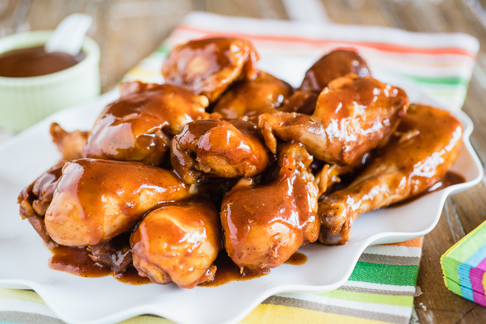 Slow Cooker 3-Ingredient Barbecue Chicken