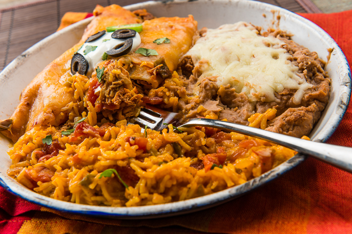 Slow Cooker Chicken Enchiladas from Everyday Good Thinking, the official blog of @HamiltonBeach