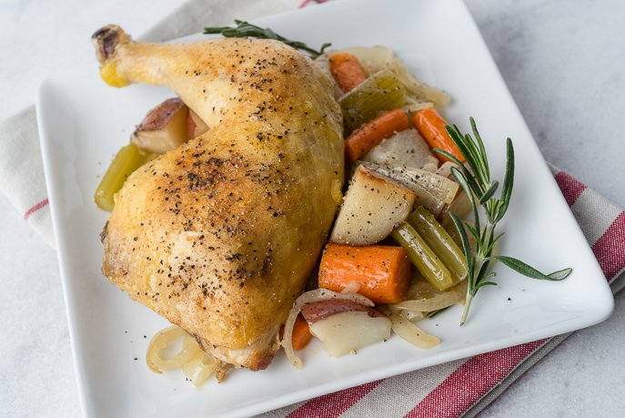 Slow Cooker Chicken Pot Roast from Everyday Good Thinking, the official blog of @hamiltonbeach