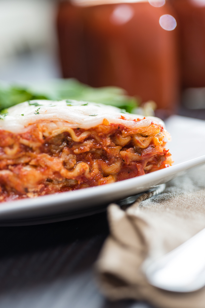 Slow Cooker Lasagna Recipe from Everyday Good Thinking, the official blog from @hamiltonbeach