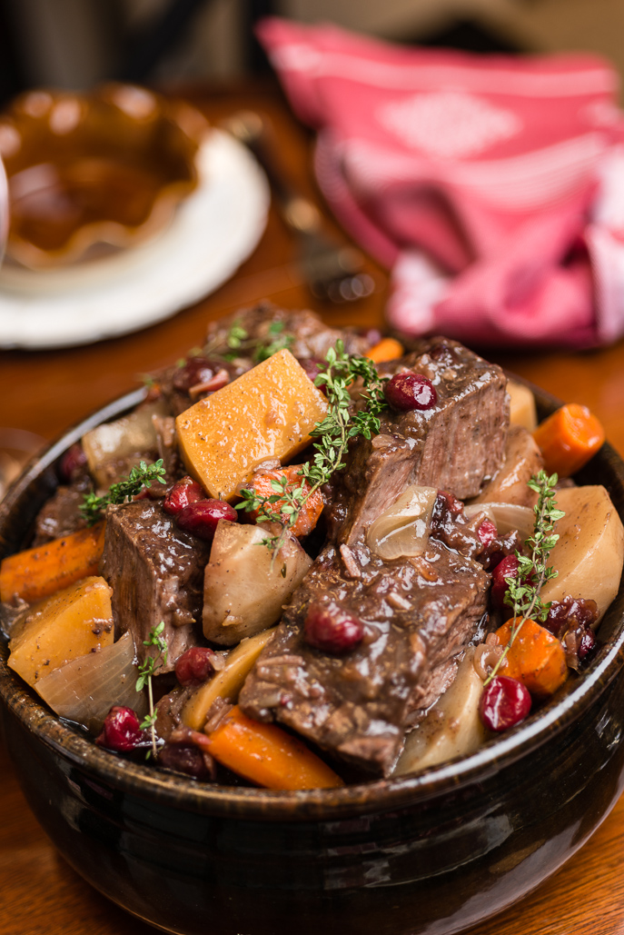 Slow Cooker Holiday Pot Roast from Everyday Good Thinking, the official blog from @hamiltonbeach