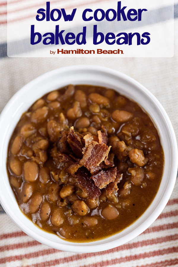 Simple Slow Cooker Baked Beans