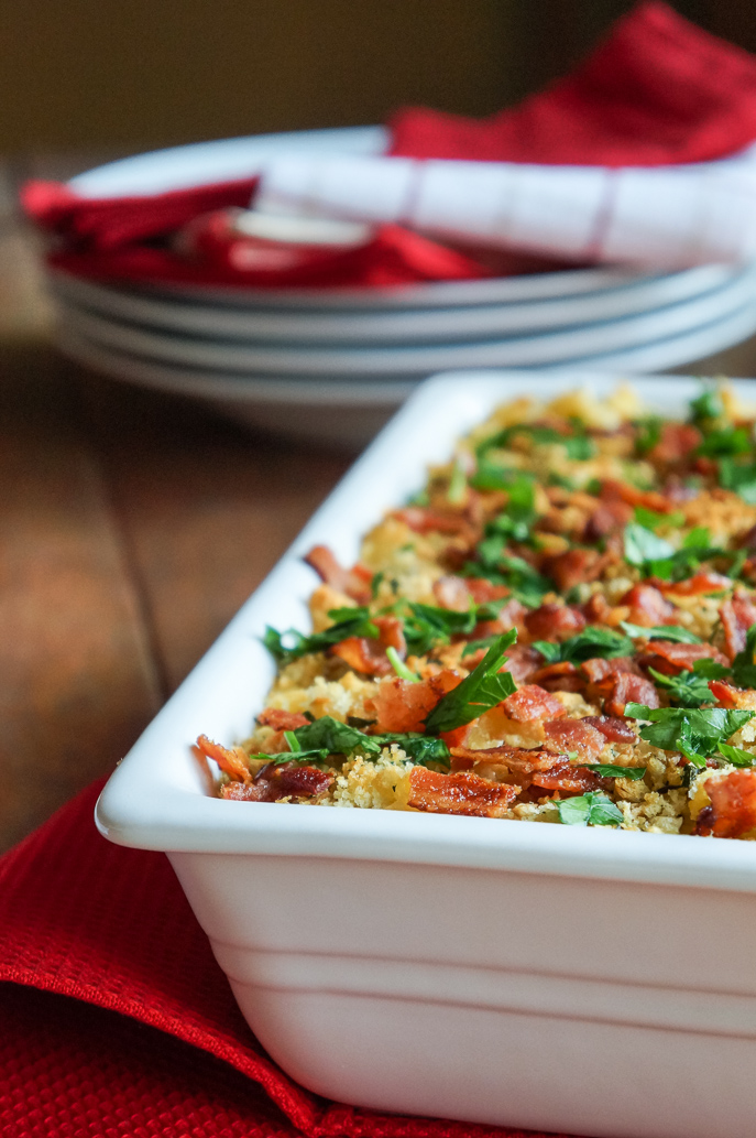 Smoked Gouda Bacon Mac n' Cheese from Everyday Good Thinking, the official blog of @hamiltonbeach