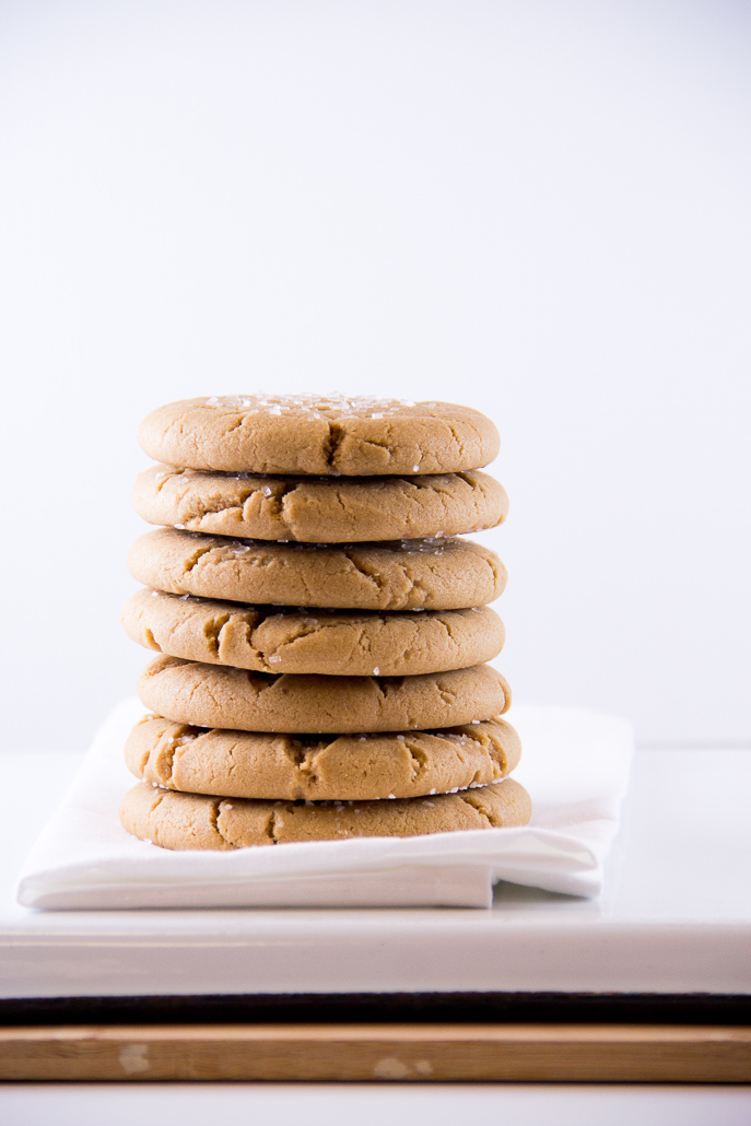 Soft Peanut Butter Cookies from Everyday Good Thinking, the official blog of @HamiltonBeach