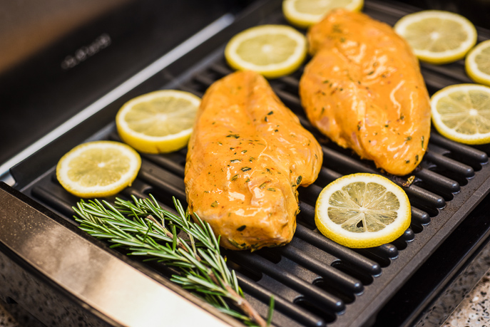 Spicy Lemon Chicken for Two from Everyday Good Thinking by @hamiltonbeach