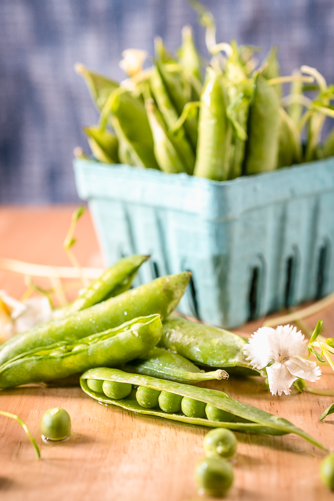 Food Focus: Spring Peas from Everyday Good Thinking by @hamiltonbeach