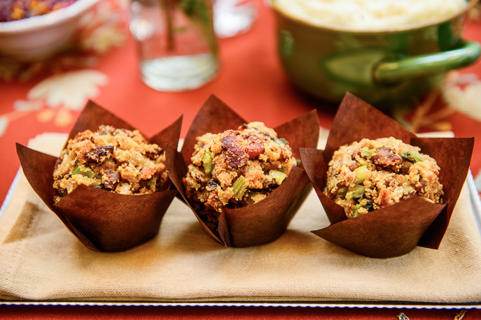 Thanksgiving Single Serve Stuffing Muffins from Everyday Good Thinking, the official blog of @HamiltonBeach