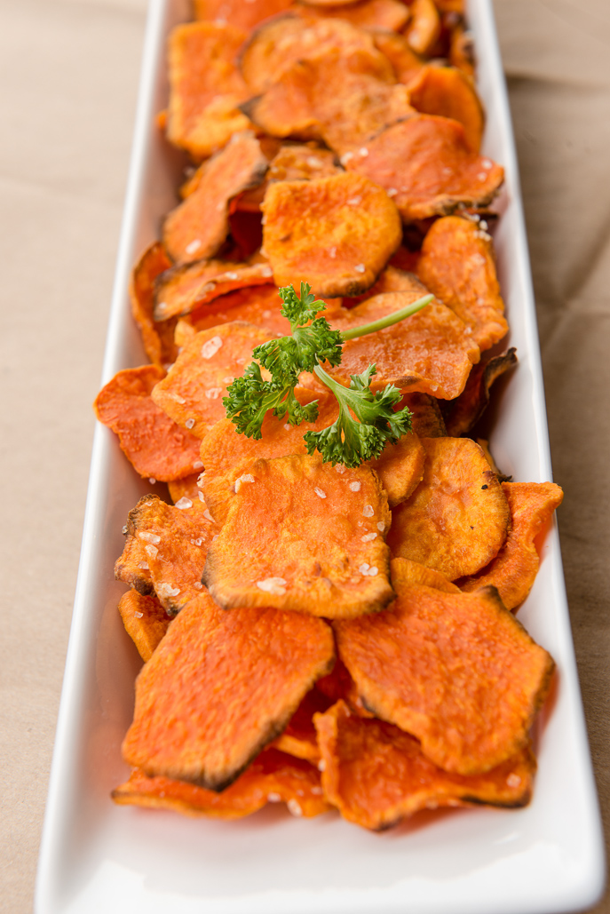 Sweet Potato Chips Recipe from Everyday Good Thinking, the official blog of !HamiltonBeach