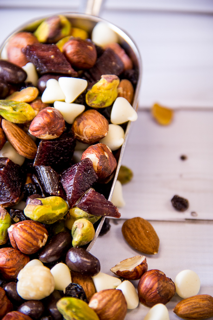 Trail Mix for Entertaining from Top Three Trail Mix Snack Ideas by Everyday Good Thinking | @HamiltonBeach