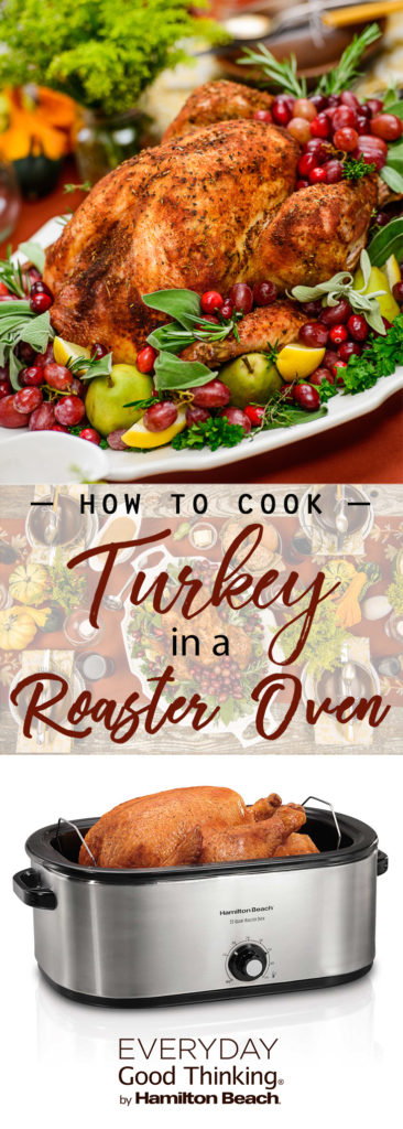 how to cook turkey in a roaster oven