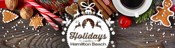 Holidays with Hamilton Beach