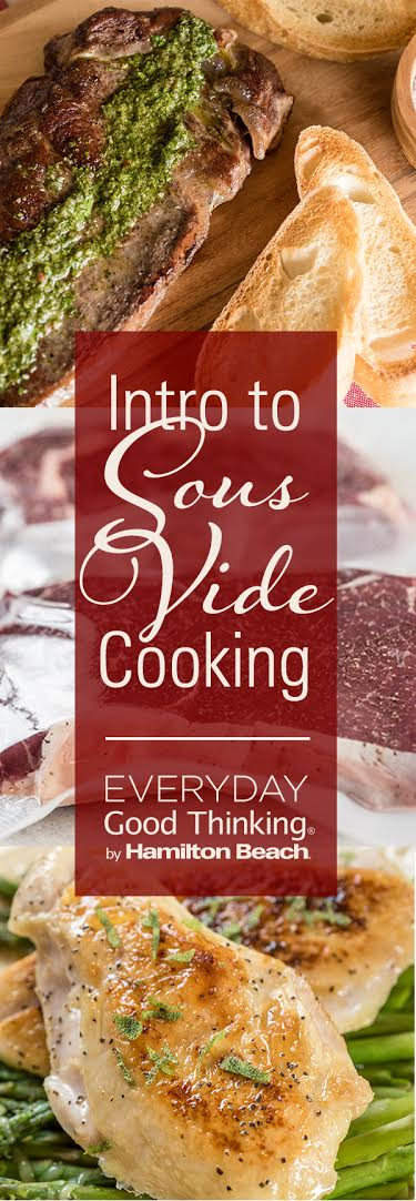 Intro to Sous Vide Cooking Pinterest Graphic