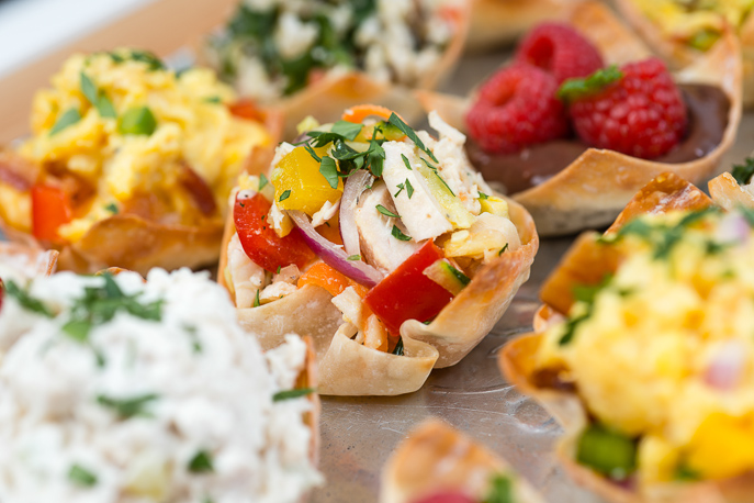Baked Wonton Cups from Everyday Good Thinking, the official blog of @hamiltonbeach