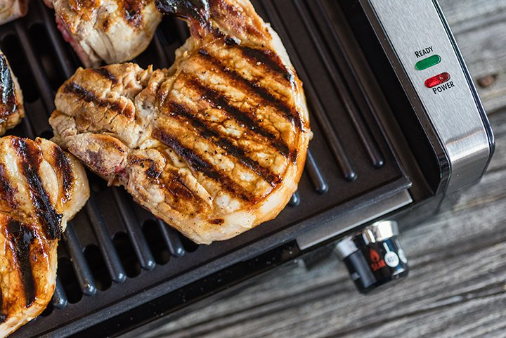 Grilled Pork on the Searing Grill