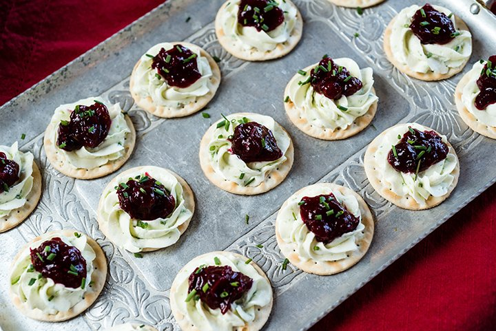 Spicy Cream Cheese and Cranberry Spread