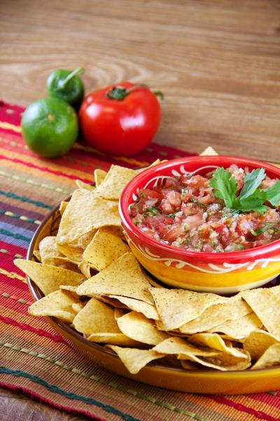 Fresh and Spicy Salsa