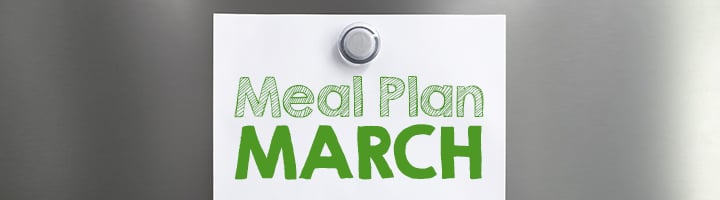 Meal Plan March on EverydayGoodThinking.com