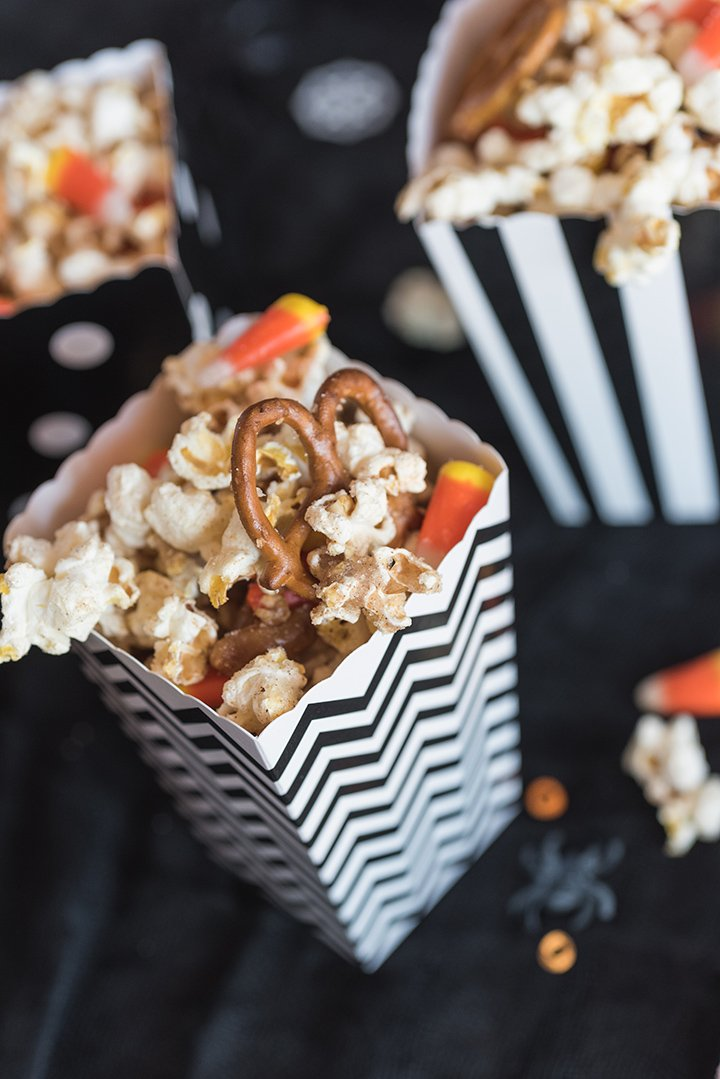 Halloween Party Popcorn Mix
