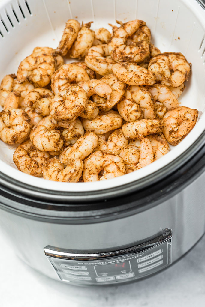 Rice Cooker Shrimp