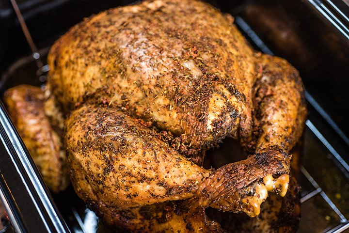 Dry-Brined Thanksgiving Turkey