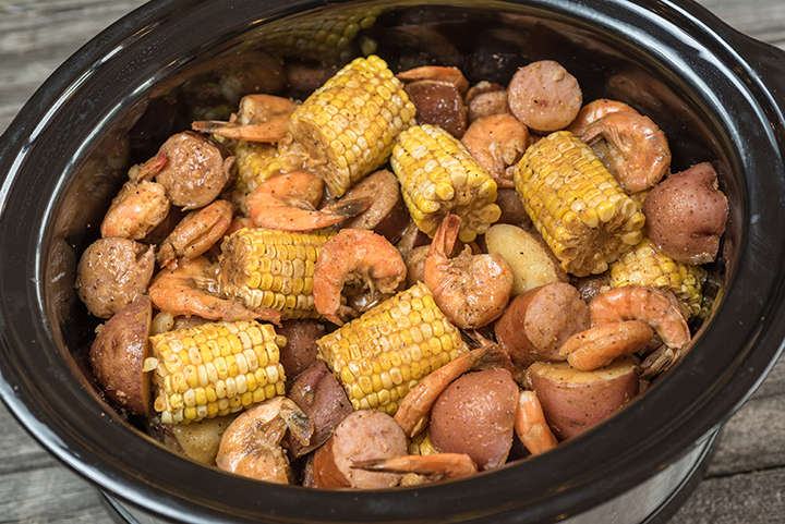 Slow Cooker Low County Boil