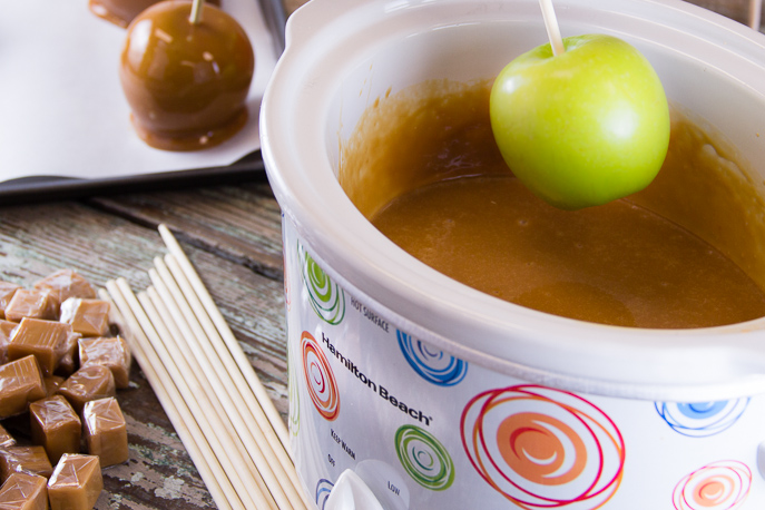 Caramel Apples from Everyday Good Thinking, the official blog of @HamiltonBeach