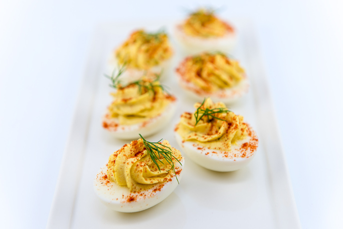 Classic Deviled Eggs | Everyday Good Thinking - @hamiltonbeach