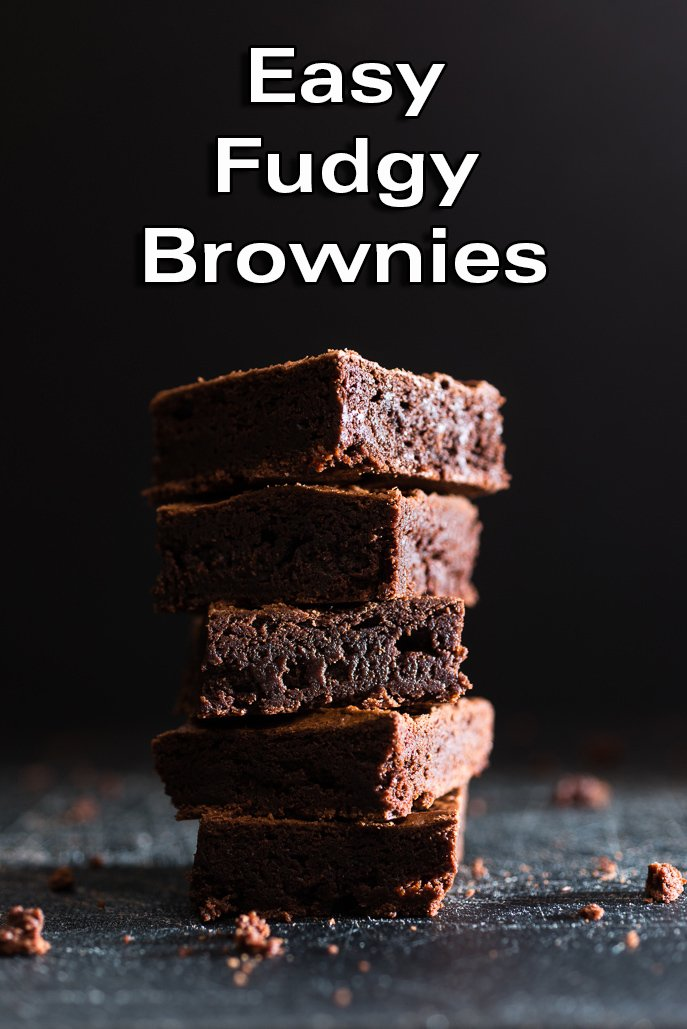 Easy Fudgy Chocolate Brownies from Everyday Good Thinking, the official blog of @hamiltonbeach