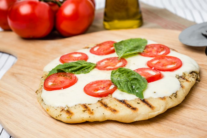 Grilled Margarita Pizzas from Everyday Good Thinking, the official blog of @hamiltonbeach