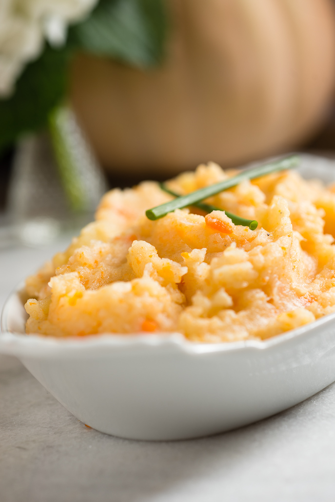 Root Vegetable Mashed Potatoes from Everyday Good Thinking, the official blog of Hamilton Beach