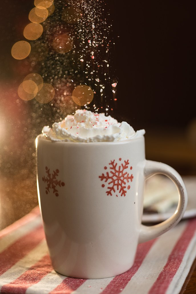 White Chocolate Peppermint Mocha Coffee from Everyday Good Thinking, the official blog of @hamiltonbeach