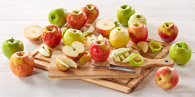 How to peel, core and chop apples